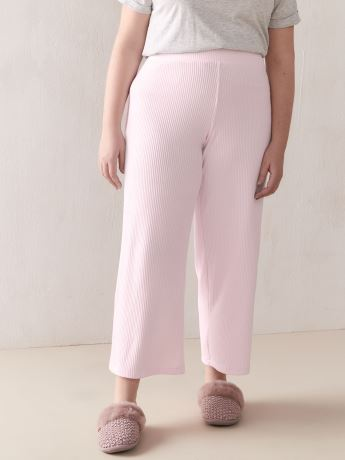 Ribbed Flare Pants - Addition Elle