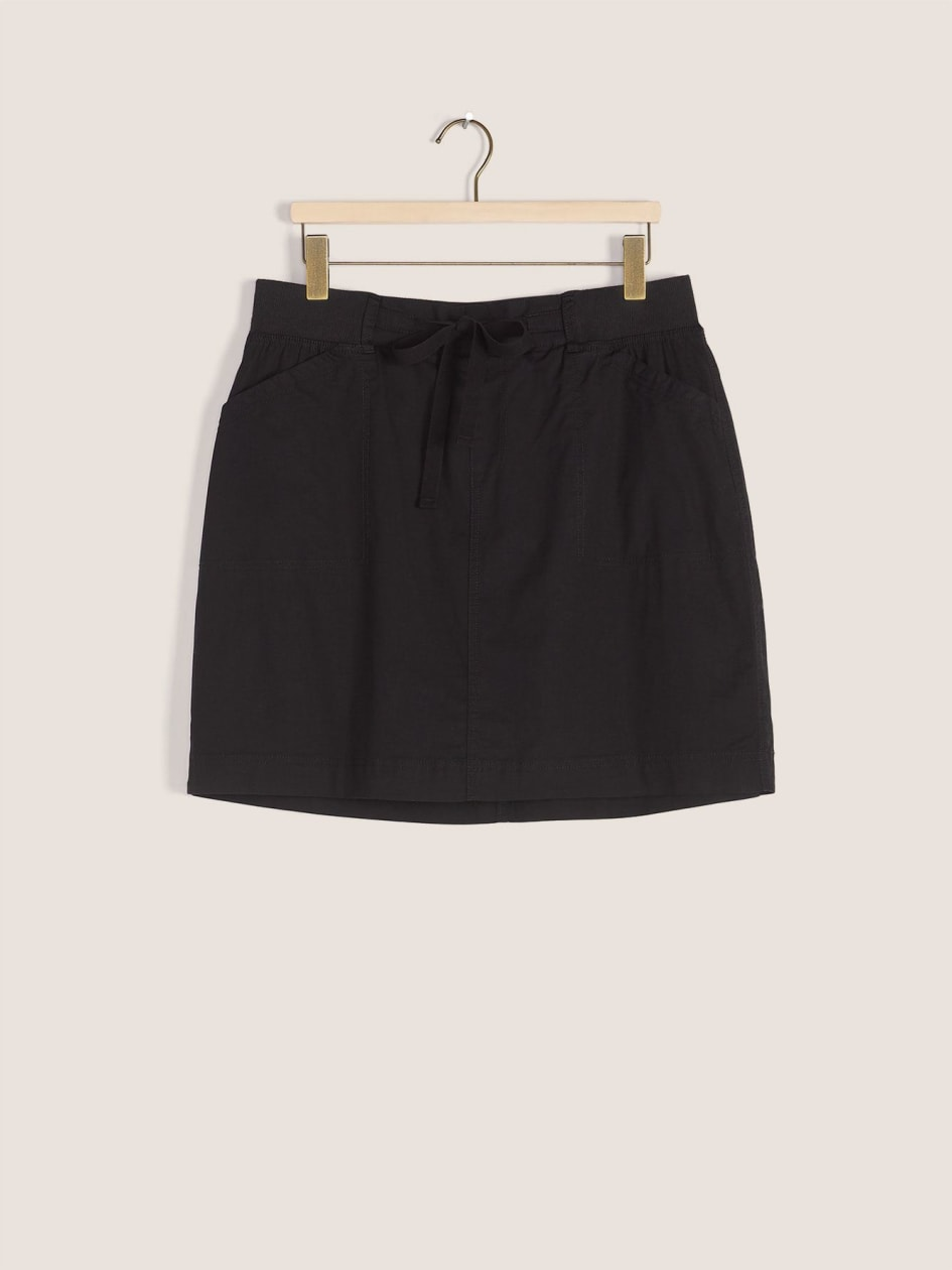 Woven Skort with Drawstring - In Every Story