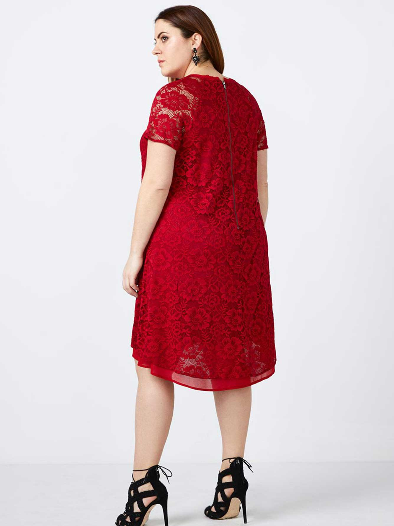Lace Swing Dress - In Every Story