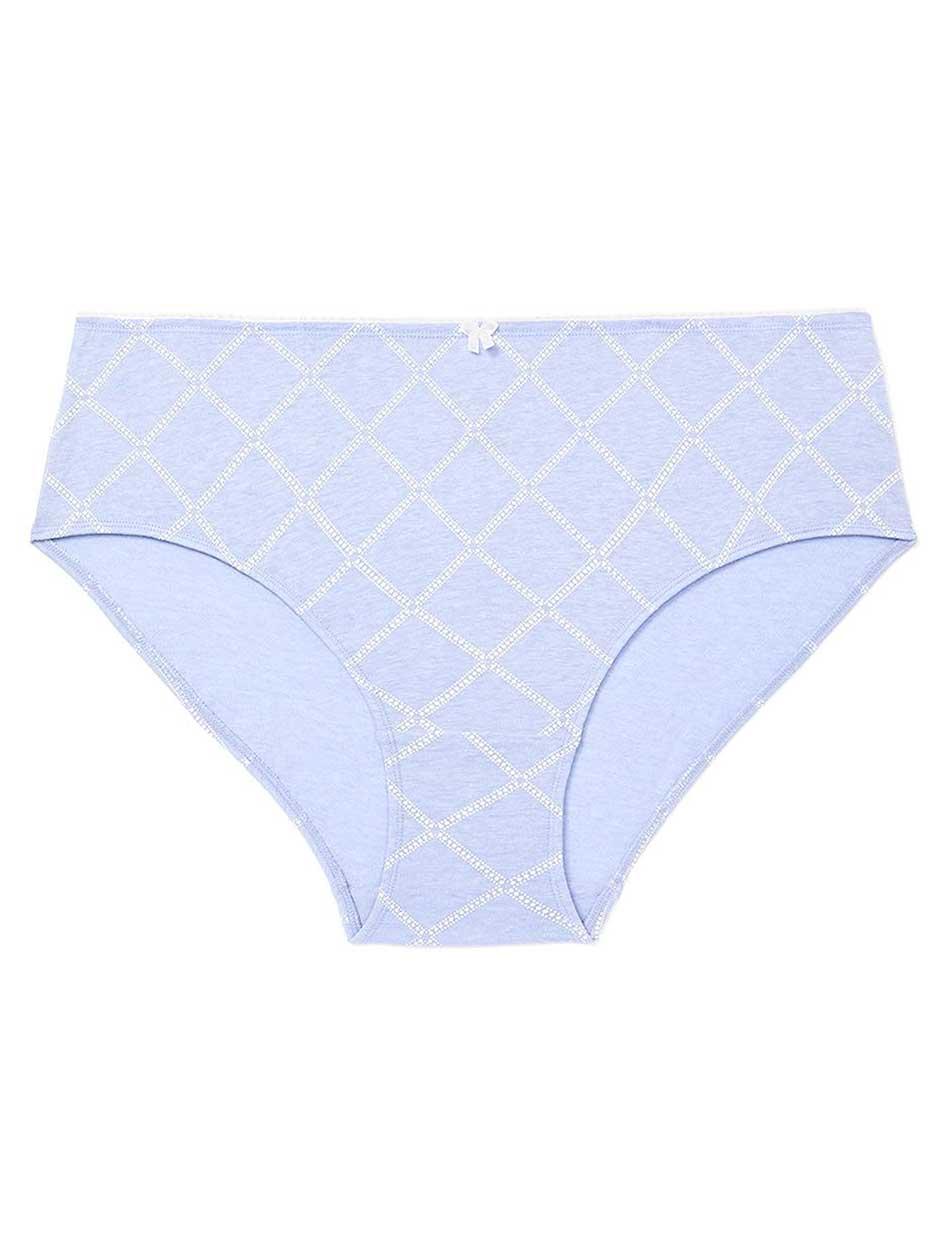Printed Cotton Hipster Panty - ti Voglio
