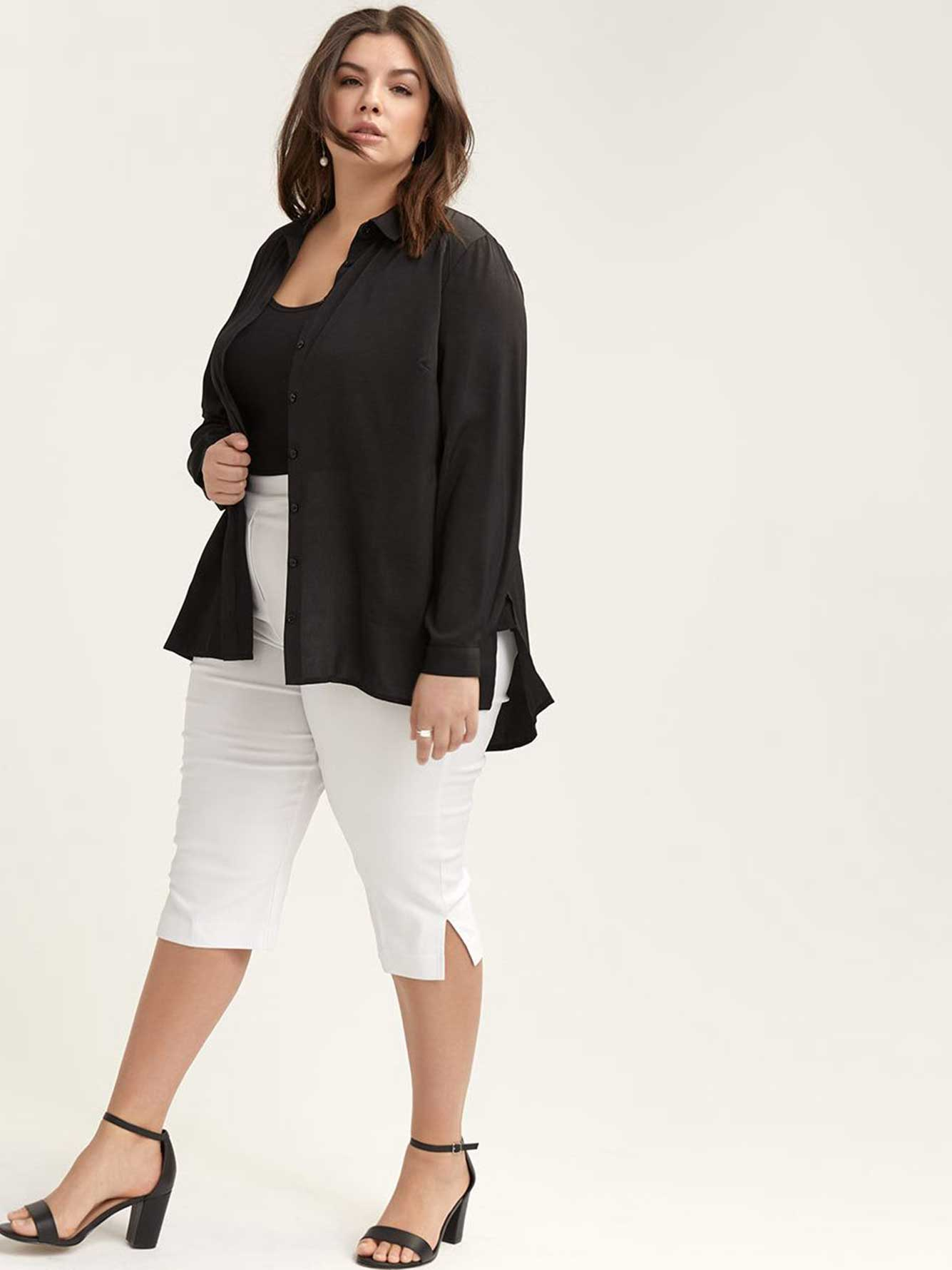 Savvy Soft Touch Solid Capri - In Every Story