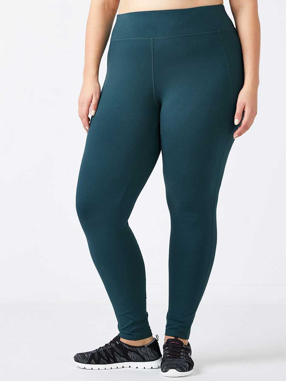 ONLINE ONLY - Plus-Size Basic Legging - Essentials