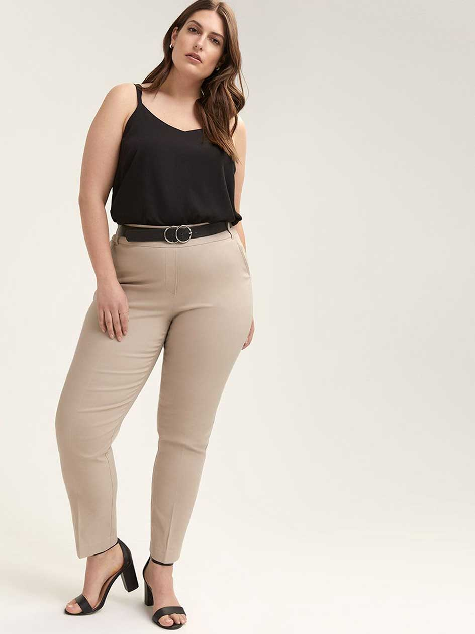 6775b33e7eb22 Petite - Savvy Soft Touch Straight Leg Pant - In Every Story