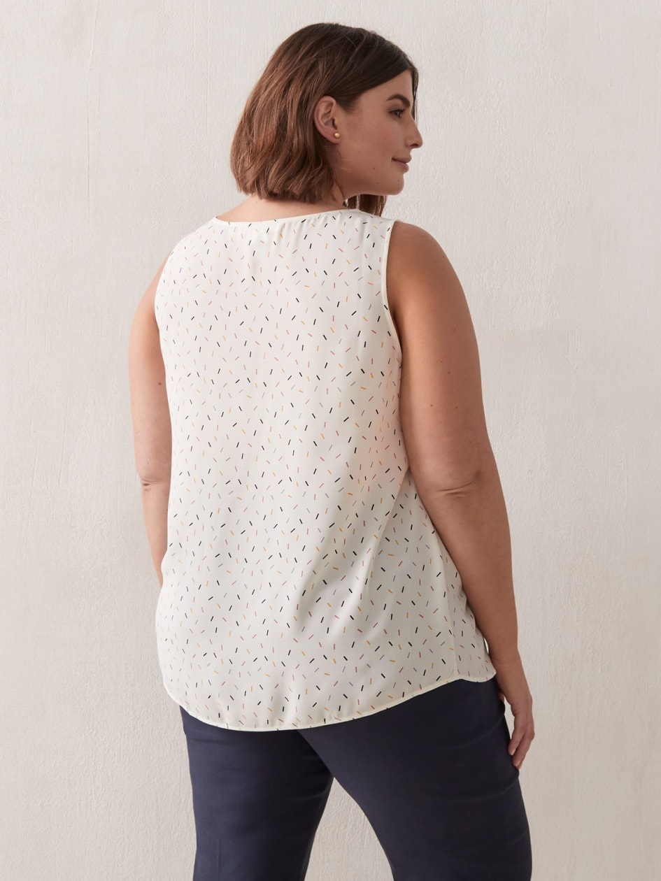 Blouse With Zipped Front - In Every Story