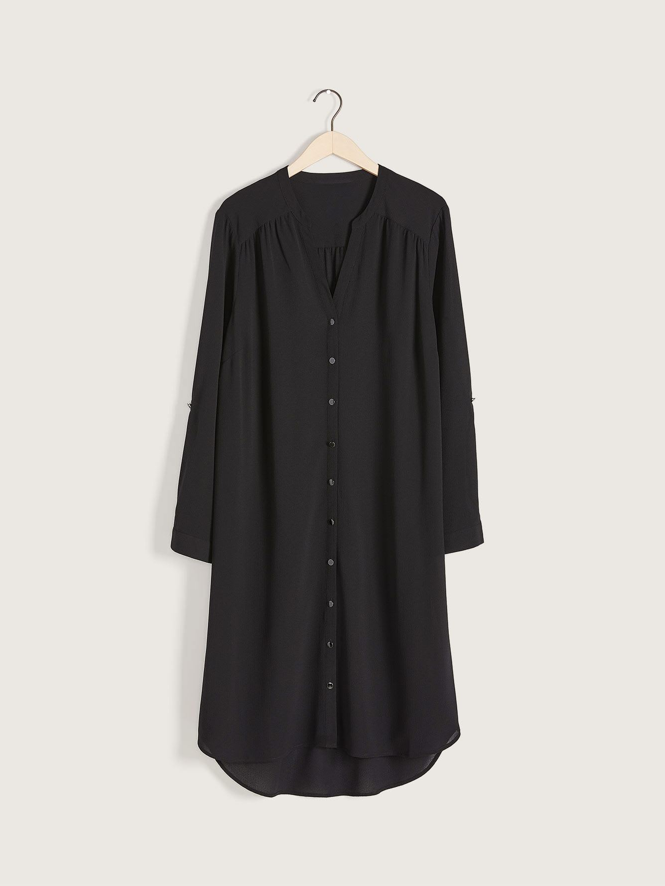 Straight Shirt Dress - Addition Elle