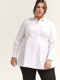 Long Sleeve Button-Up Blouse - In Every Story