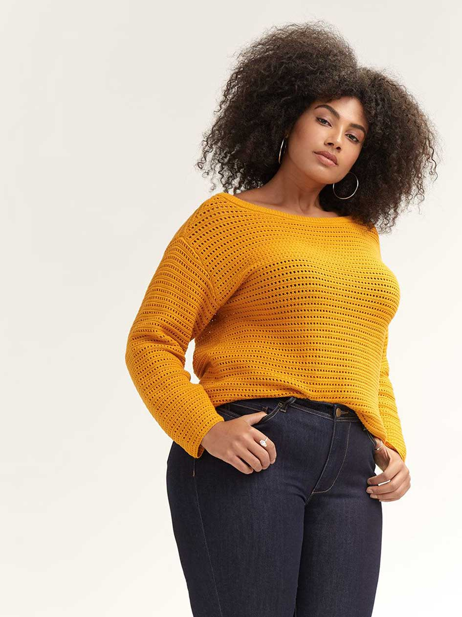 00e4440f88e Stylish Plus Size Sweaters | Plus Size Tops | Penningtons