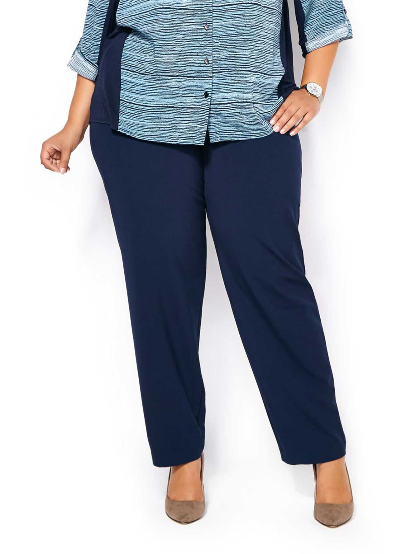 4bb8dd2c4c9 Petite - Curvy Fit Straight Leg Pant