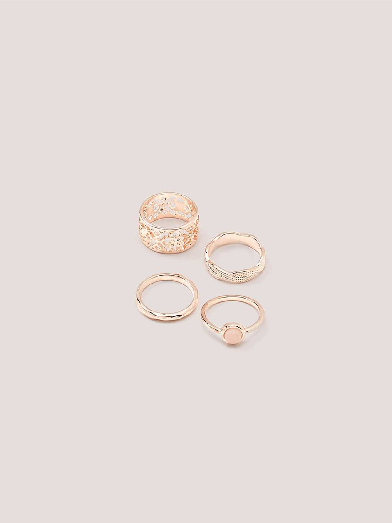 Pack of 4 Rings