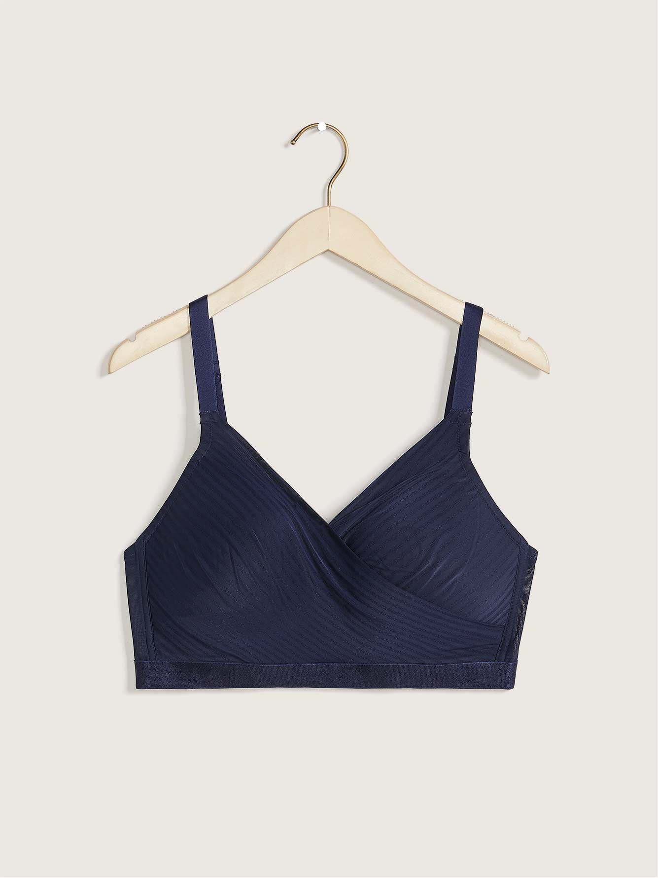 Lounge Bra, Shadow Stripes - Déesse Collection