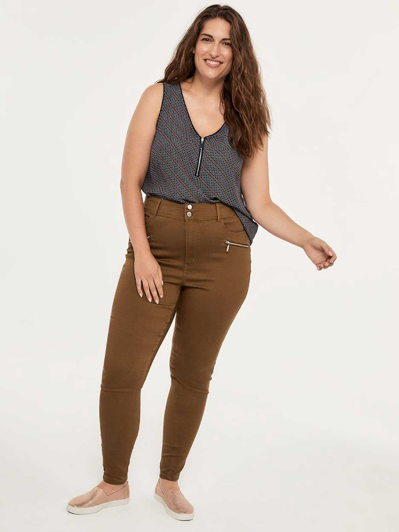 ONLINE ONLY - Tall Savvy Fit High Waisted Skinny Jean Legging - In Every Story