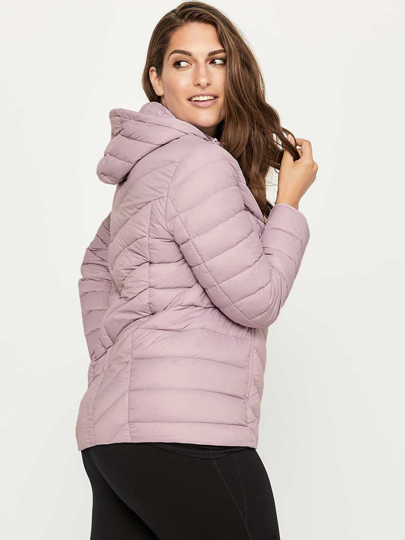 95c8f4004d1ae Plus Size Packable Hooded Jacket - ActiveZone