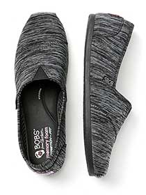 Wide-Width Heather Slip-On Shoes - BOBS from Skechers
