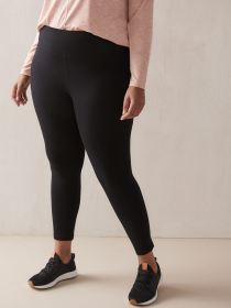 Basic Black Legging - Addition Elle