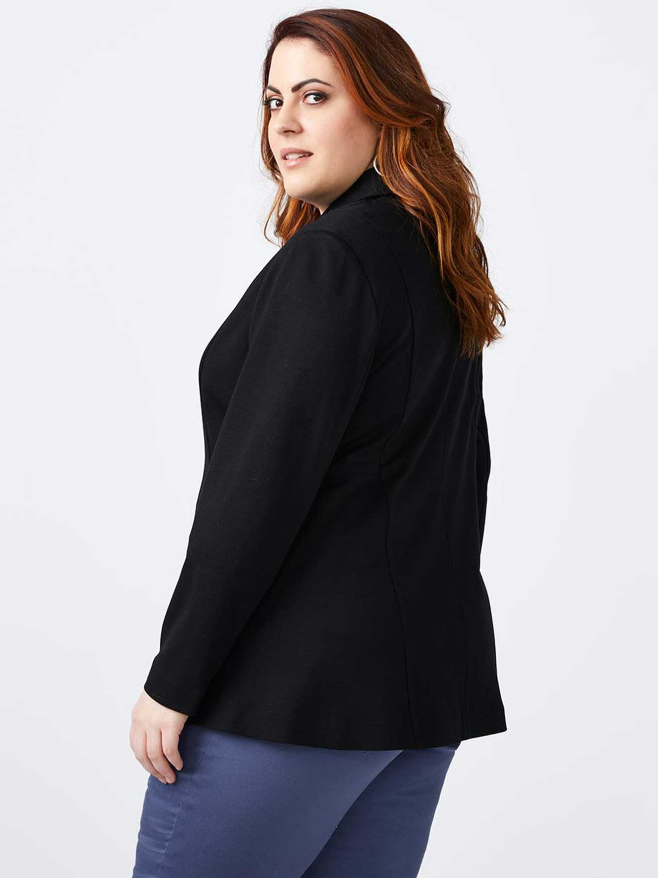 Long Sleeve Ponte Blazer - In Every Story
