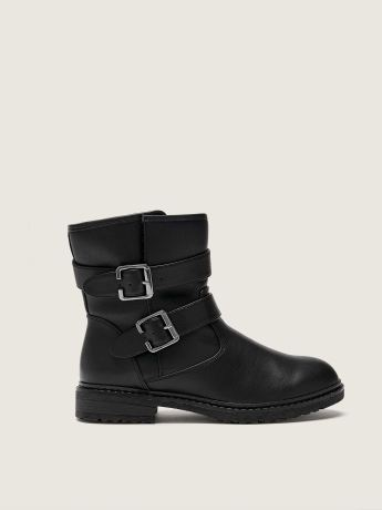 Wide Water Resistant Moto Boot - Addition Elle
