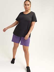 Short Sleeve T-Shirt with Mesh - ActiveZone
