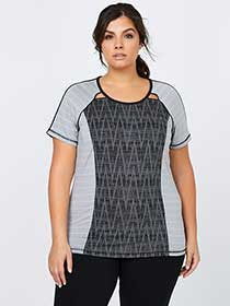 Plus-Size Printed T-Shirt - Essentials