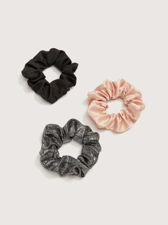 Set of 3 Hair Scrunchies - Addition Elle