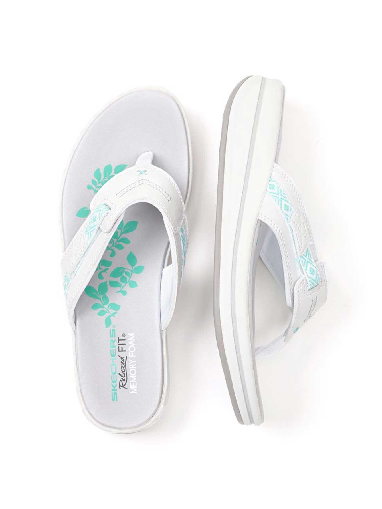 39516fa5207a1a Skechers Wide-Width Flip Flop Sandals