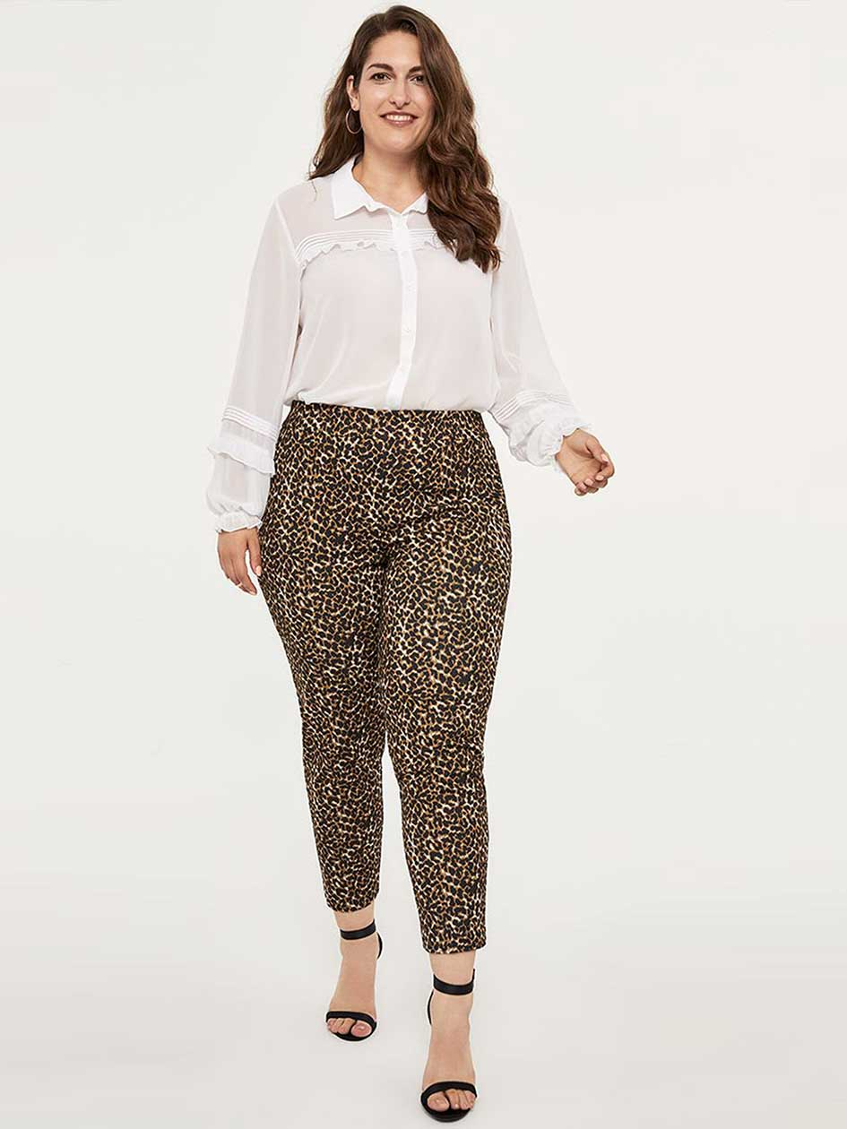 9efb95117a115 Ponte de Roma Printed Ankle Pant - In Every Story
