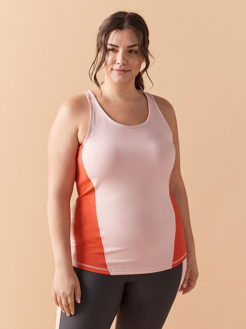 Colour Blocking Tank Top - ActiveZone