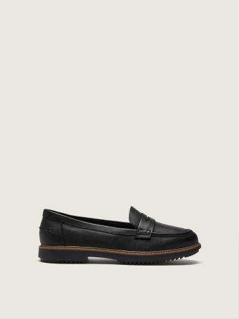 Wide Raisie Eletta Leather Loafer - Clarks