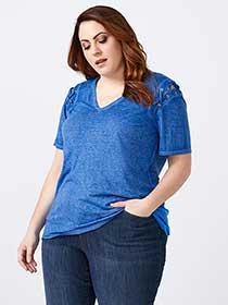 Tunic with Lace Up Detailing - d/C JEANS