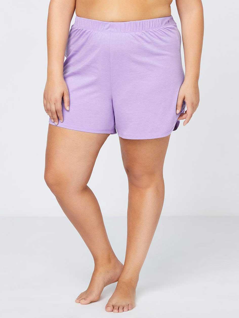Pyjama Short with Shirring at Sides - ti Voglio