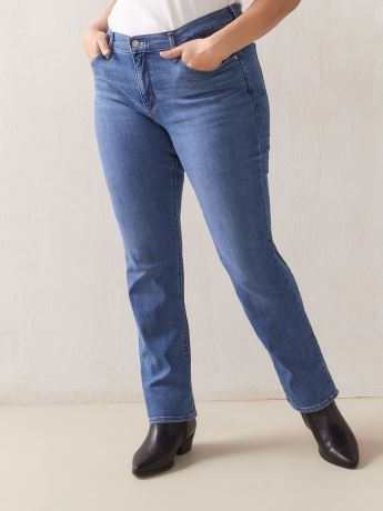 314 Shaping Straight Mid-Rise Lapis Speed Jean - Levi's