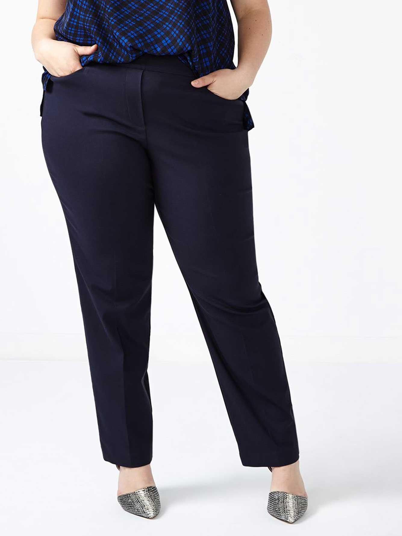 ONLINE ONLY - Tall Savvy Straight Leg Twill Pant
