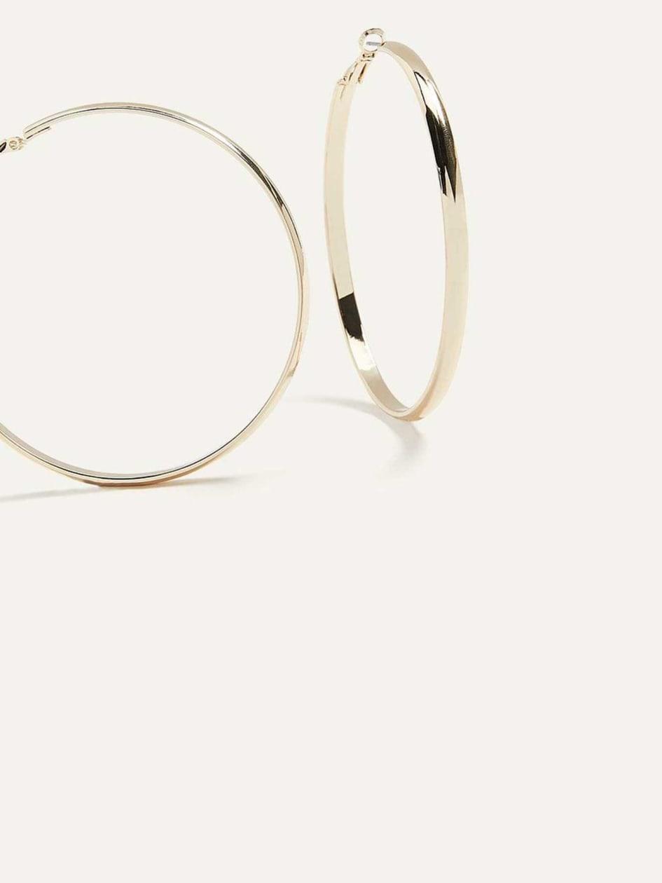 386c76b2c10 Classic Hoop Earrings