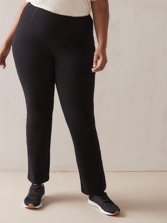 Basic Black Yoga Pant - ActiveZone