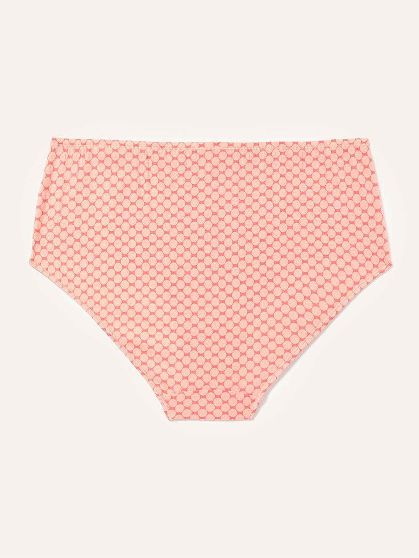 Printed Cotton Brief Panty - ti Voglio