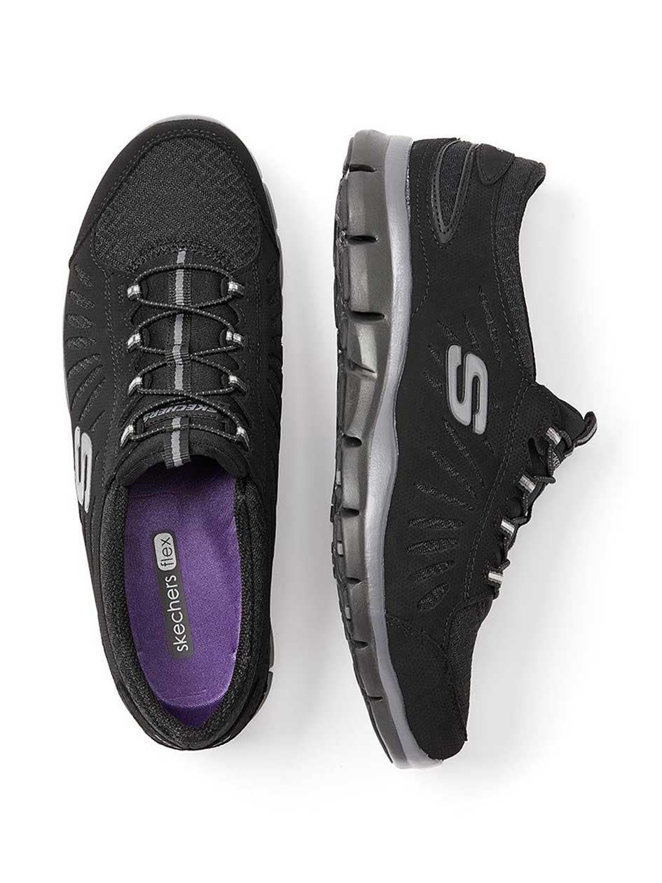 Skechers Wide Width Slip On Sneakers