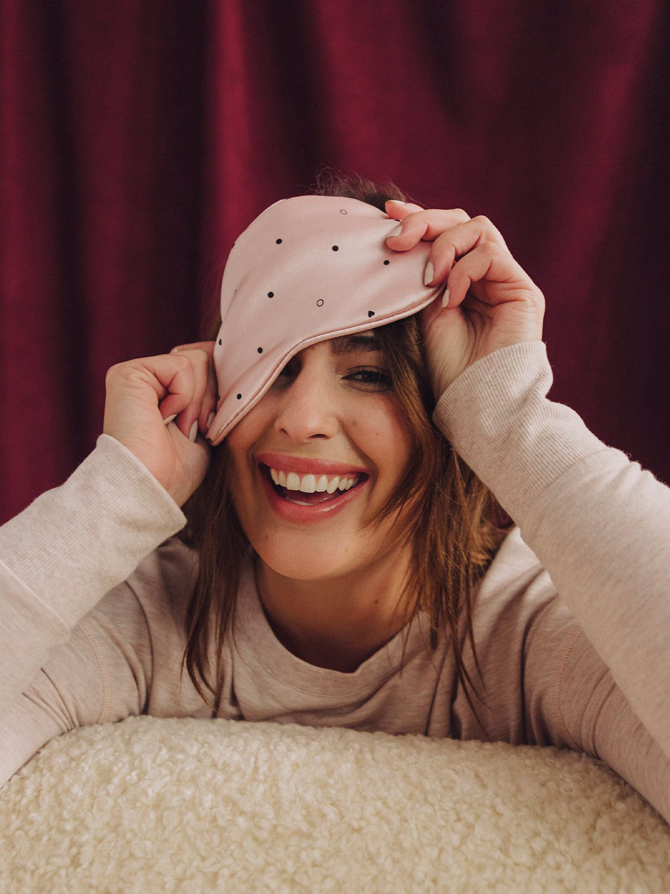 Printed Sleep Mask - Addition Elle