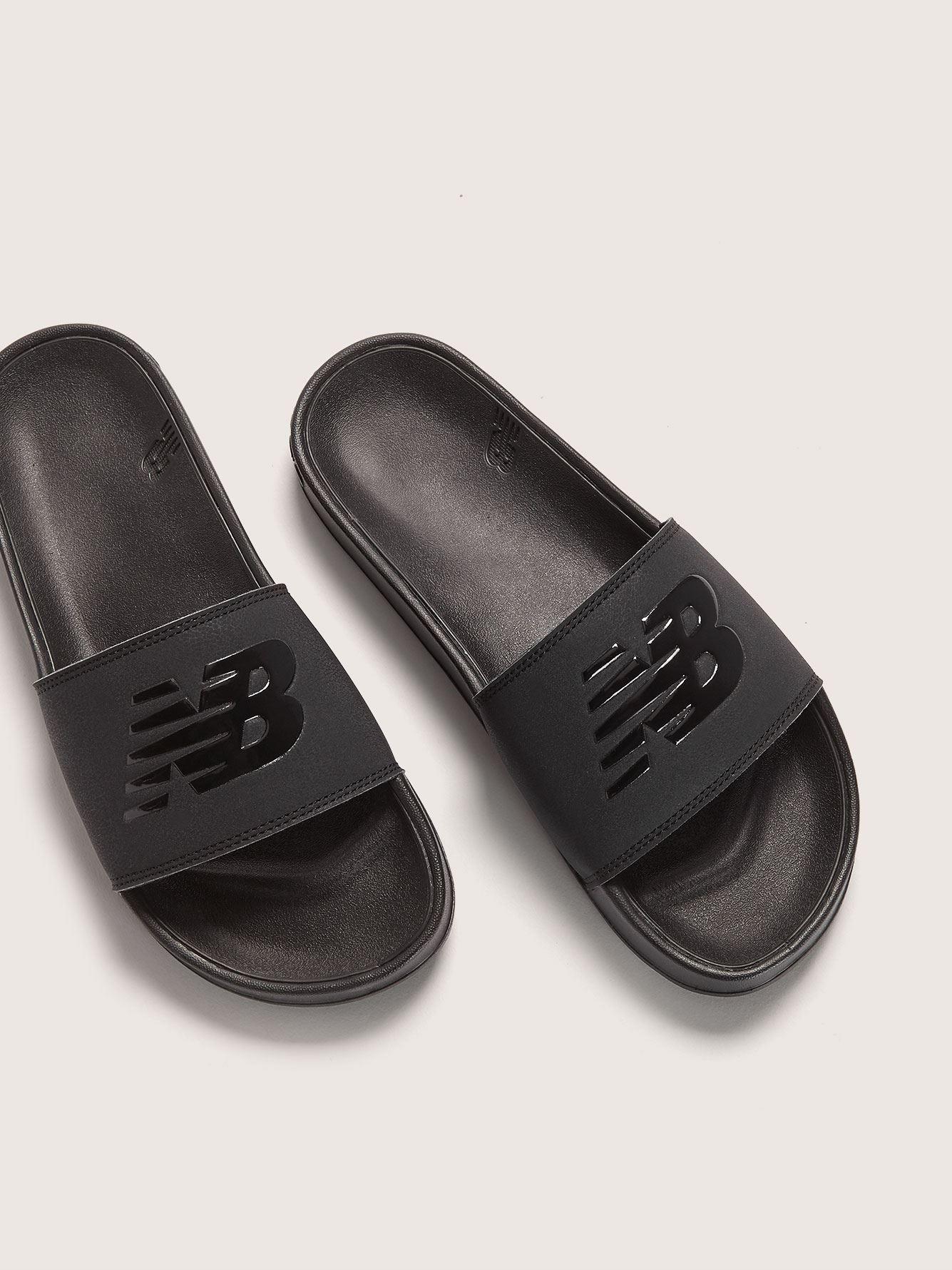 new balance slippers