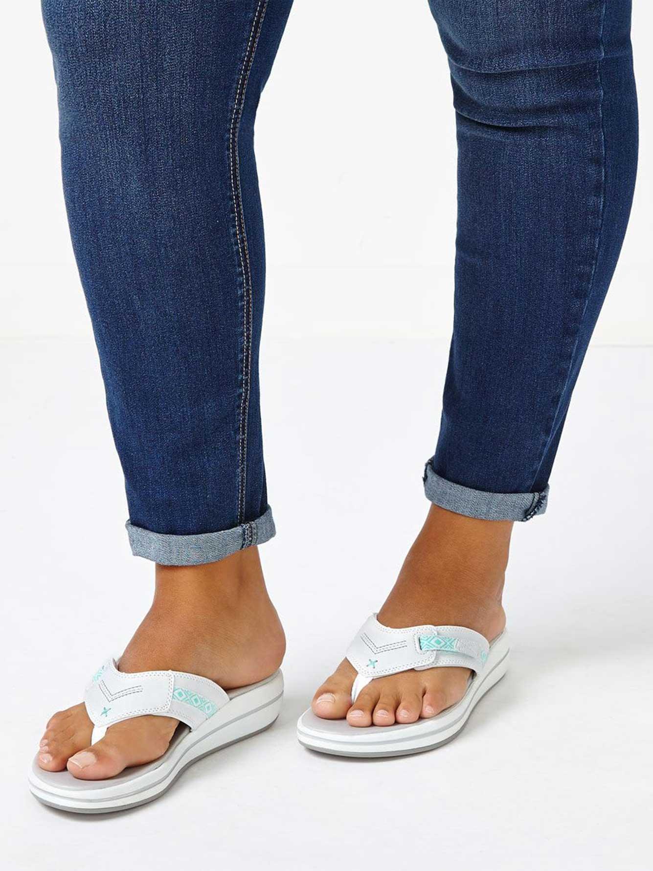 c465626dd Skechers Wide-Width Flip Flop Sandals