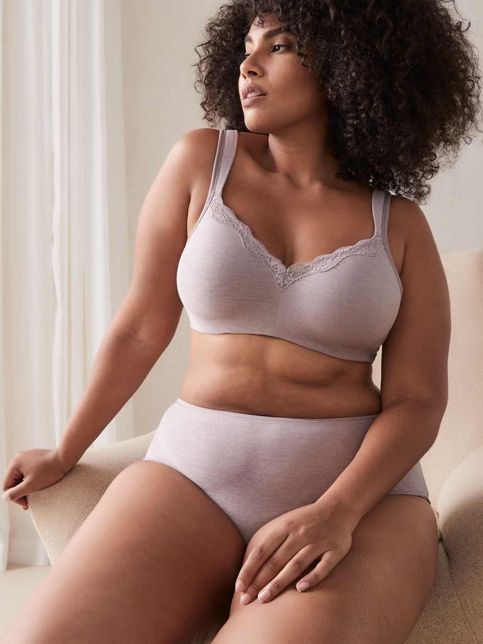 Padded Wirefree Bra, G & H Cups