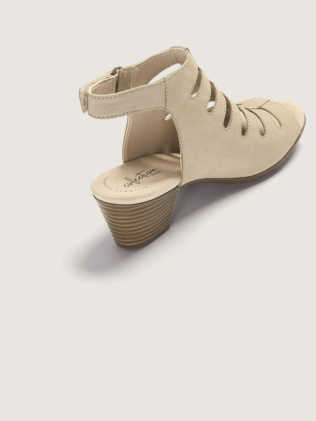 Wide High Heel Valarie Shelly Sandals - Clarks