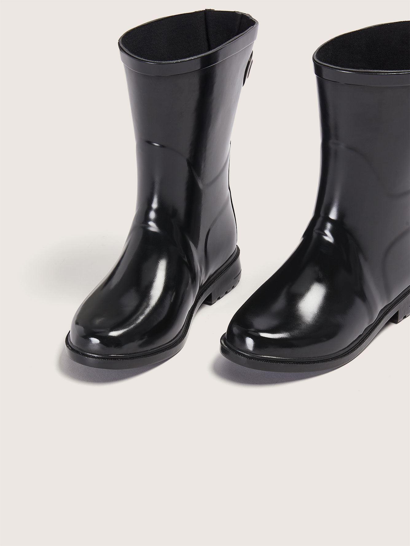 Wide Width Mid-Calf Rain Boot
