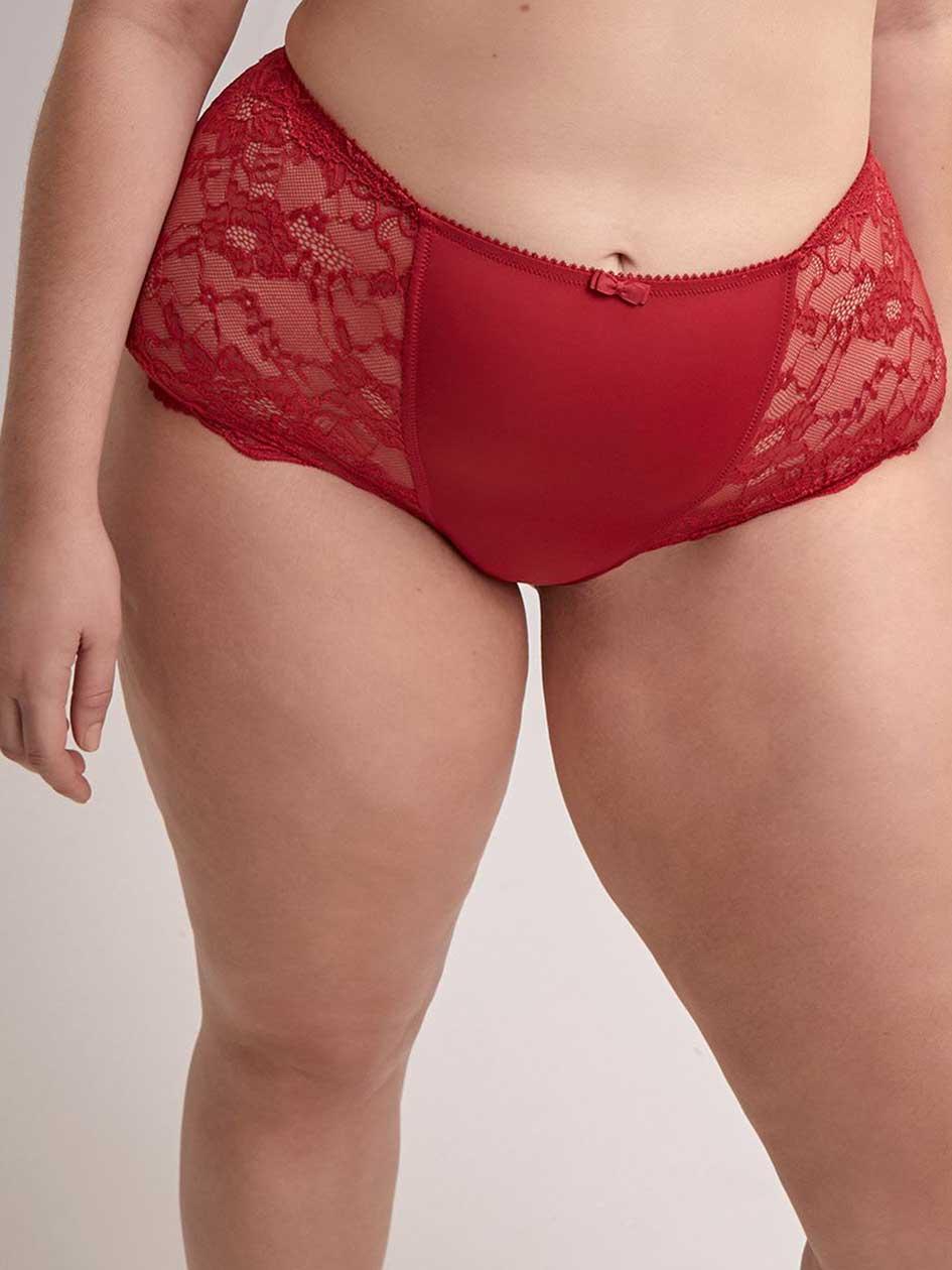 4de12e5728121 Boyshort Panty with Lace - ti Voglio