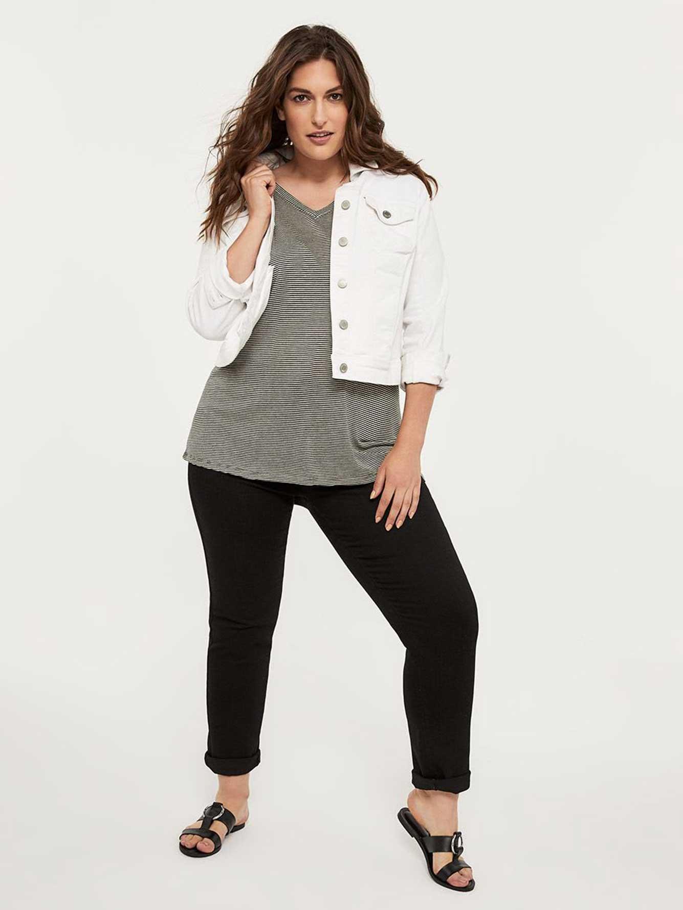 56d9154d645a66 ONLINE ONLY - Tall Curvy Fit Straight Leg Black Jean - d/C JEANS ...