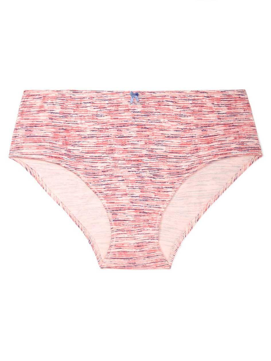 Ti Voglio Space Dye Cotton Hipster Panty
