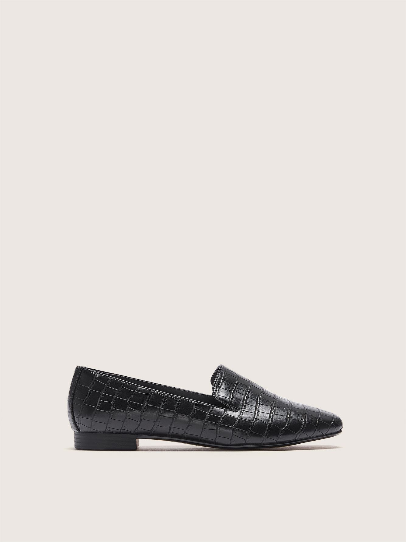 Wide Width Croco Loafer - Addition Elle