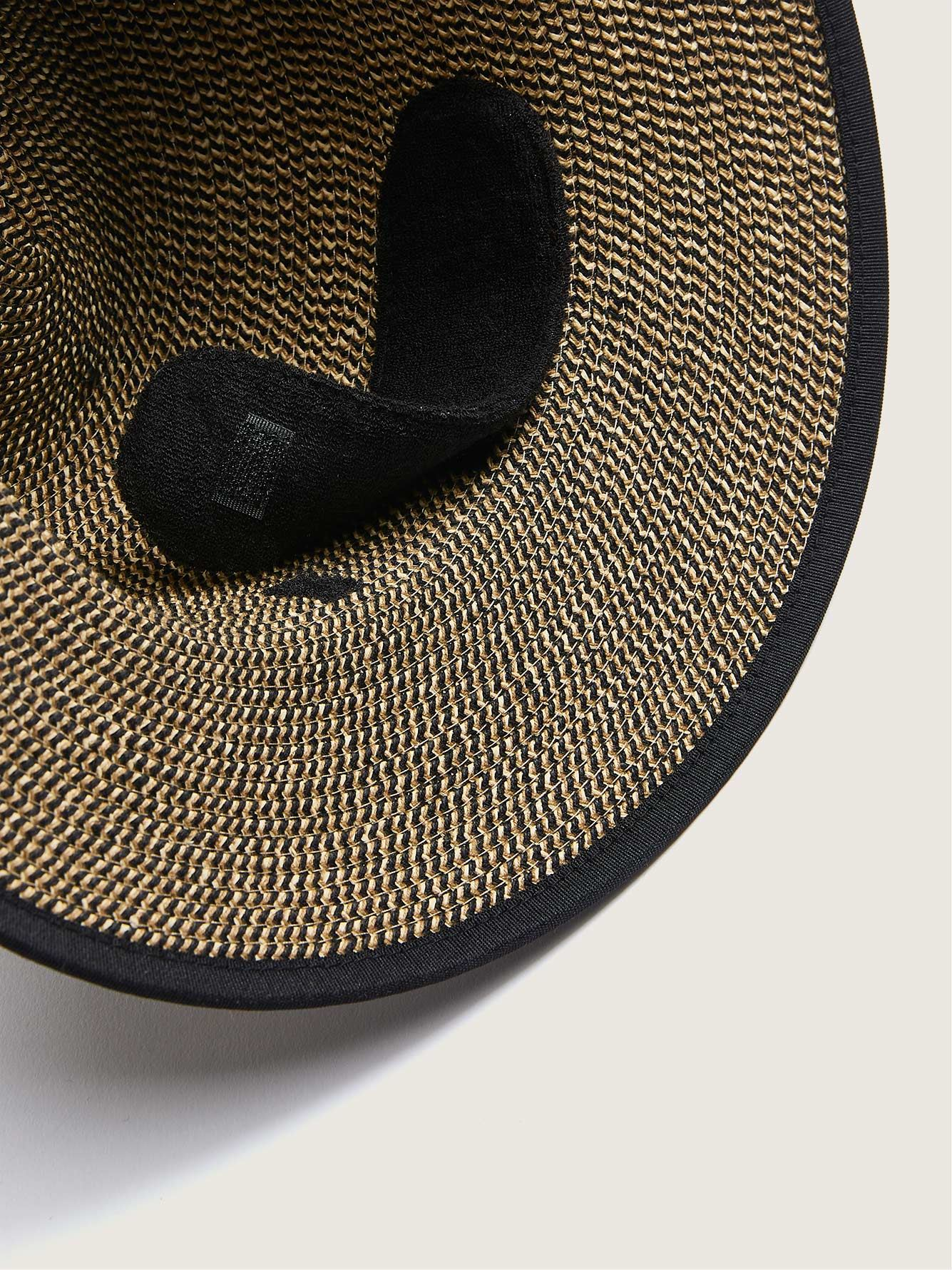Two-Tone Straw Hat - Canadian Hat