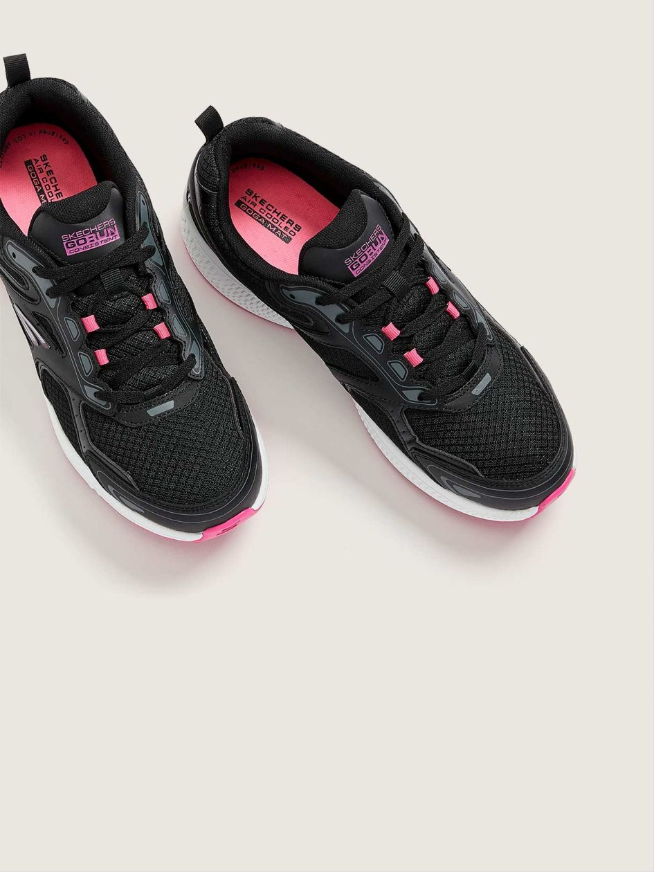Wide-Fit, Go Run Consistent Lace-Up Sneaker - Skechers