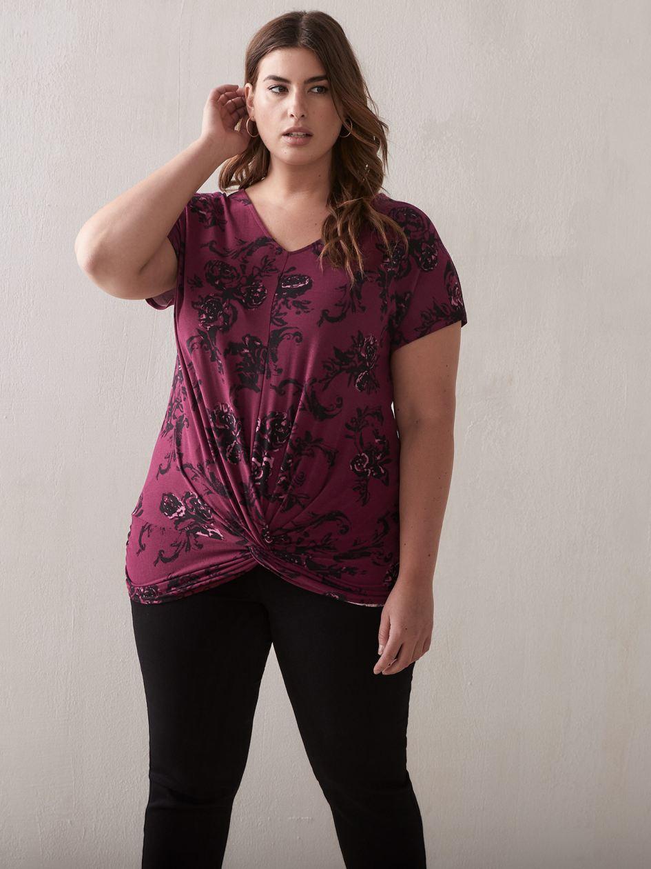 14c5a1b4e0 Plus Size Knit Tops | Plus Size Clothing | Penningtons