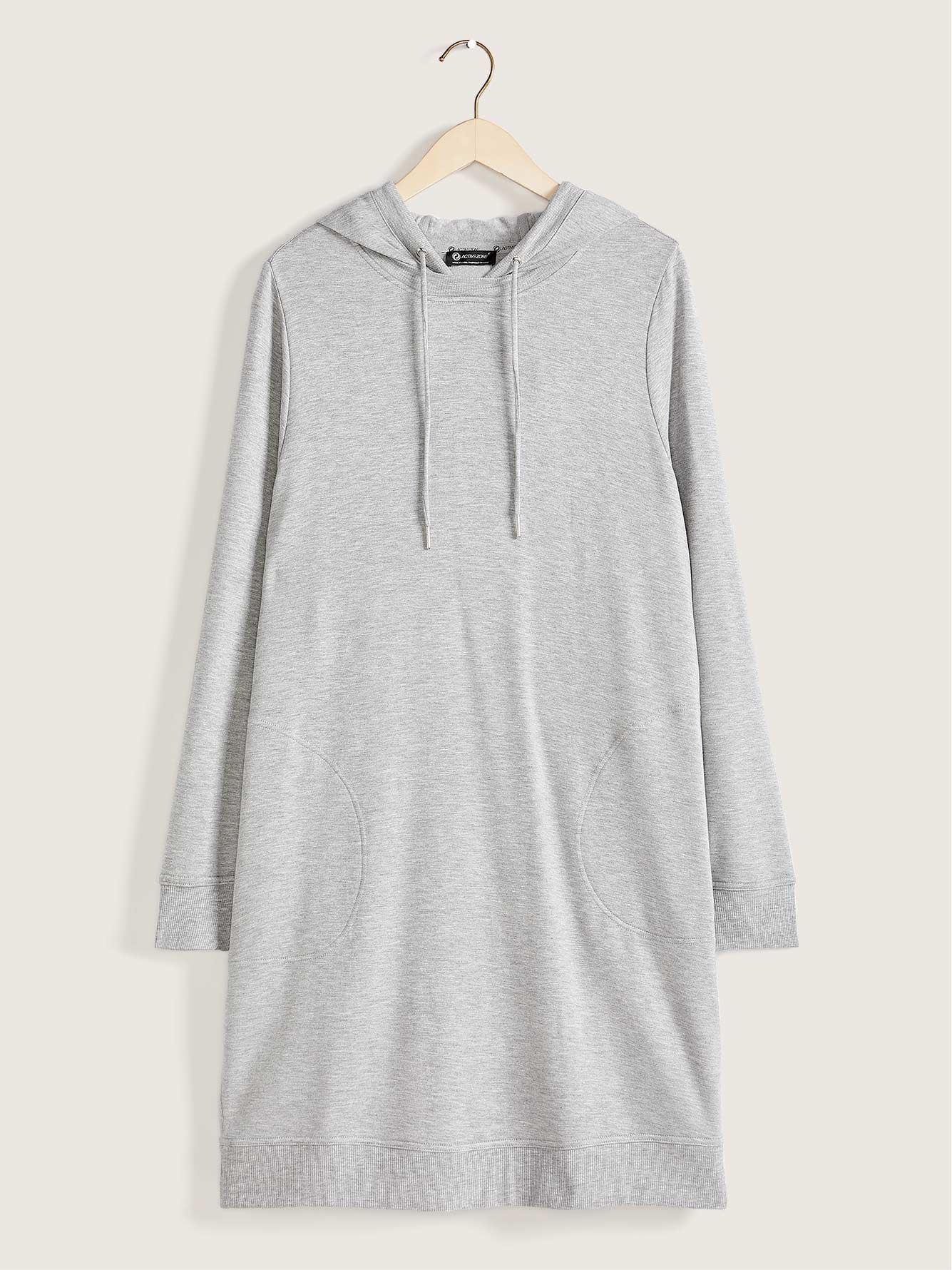 French Terry Hooded Dress - Active Zone