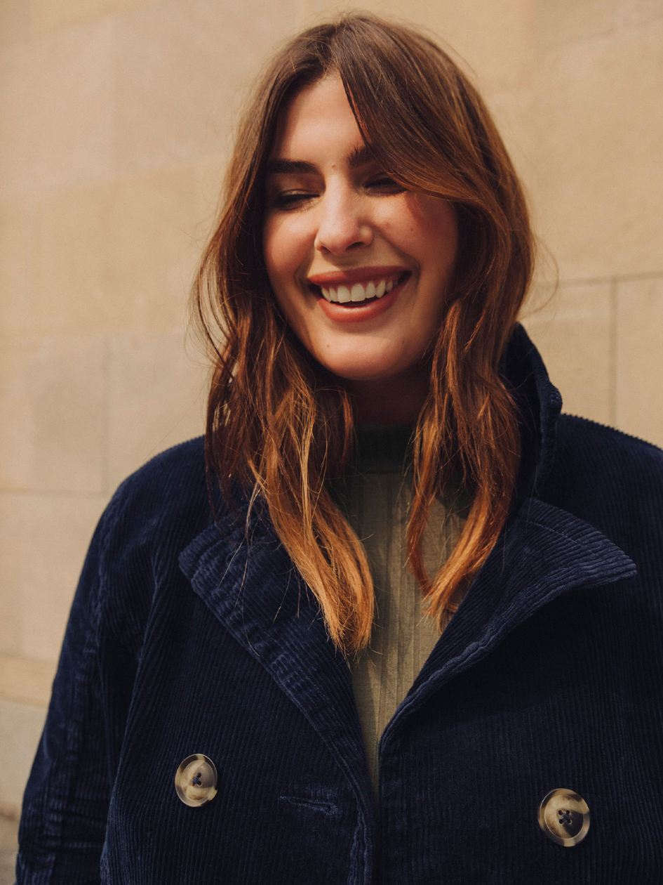 Solid Corduroy Jacket - Addition Elle